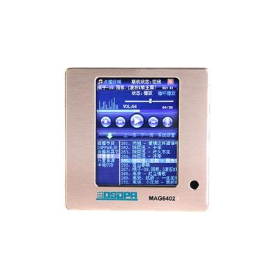 Sistema PA MAG6402 Rede On-Demand Terminal